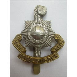 British Army The Royal Sussex Regiment Cap Badge