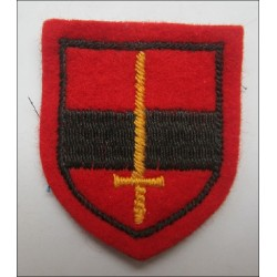 British Territorial Army Troop Cloth Formation sign
