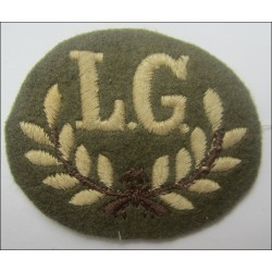 British Army Lewis Gunner Cloth Trade Badge