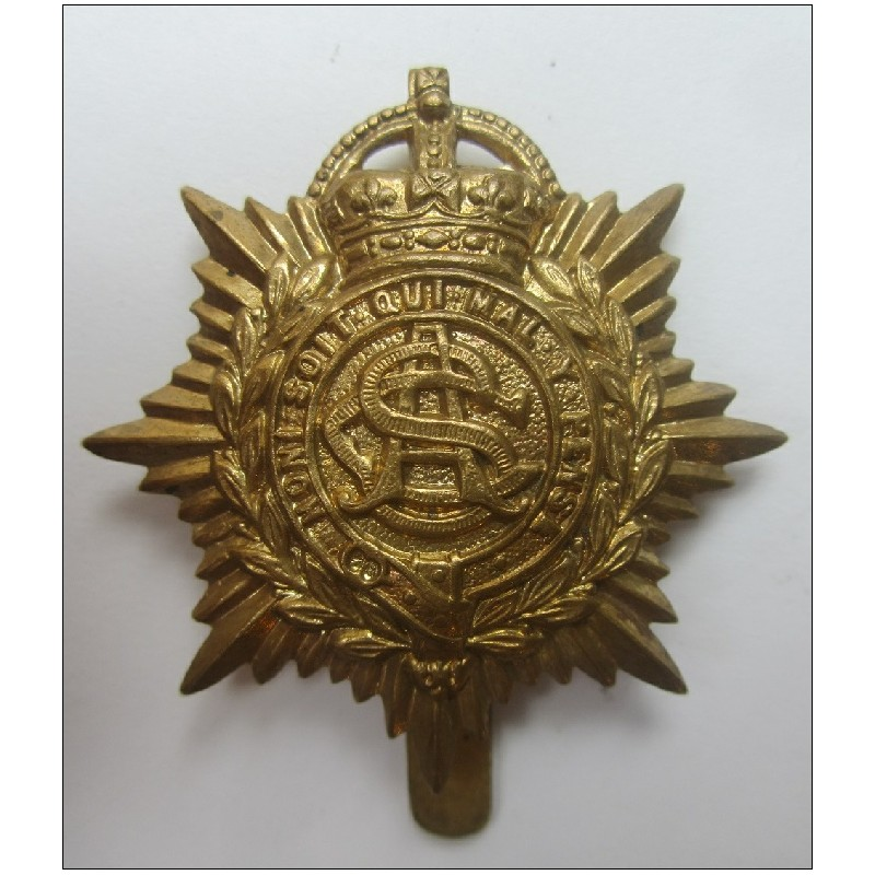 British Army Ww1 Army Service Corps Cap Badge