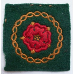 Lancs and Border District & North Western District Formation Sign/badge