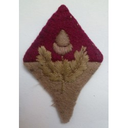 WW2 17th Battalion Heswall Cheshire Home Guard Cloth Badge