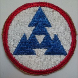 WW2 United States 3rd Army Logistical Command Cloth Patch.