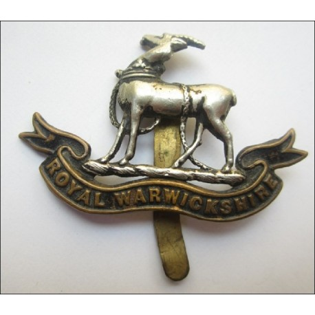 The Royal Warwickshire Regiment Cap Badge