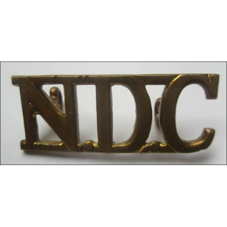 WW2 National Defence Companies NDC Shoulder Title
