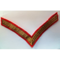 British Army Lance Corporal Rank Stripe Chevron Mess Dress WW2