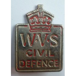 WWII WVS Womens Voluntary Service Badge