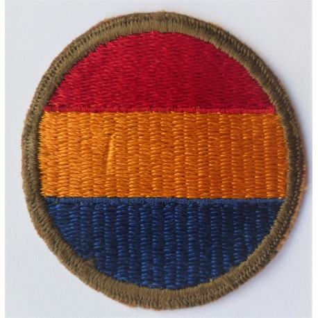 WWII United States Army Infantry Replacement Training Center Cloth Patch Badge