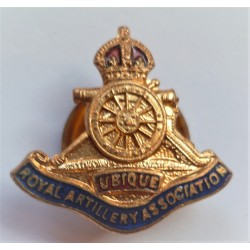 Royal Artillery Association Lapel Brooch WW2