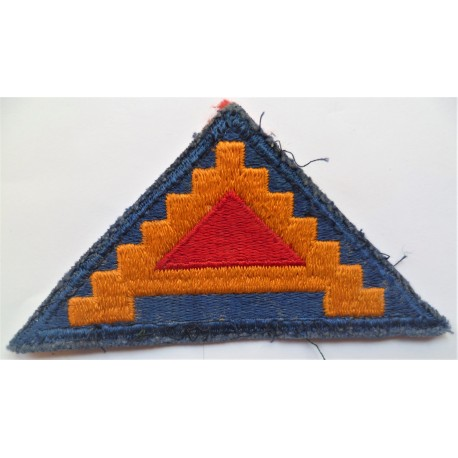 United States US 7th Army Cloth Patch Badge WW2