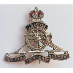 WWII Royal Artillery Sweetheart Brooch