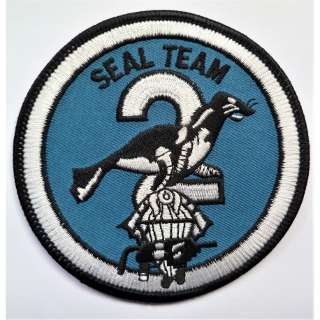 United States Navy Seal Team 2 Cloth Patch