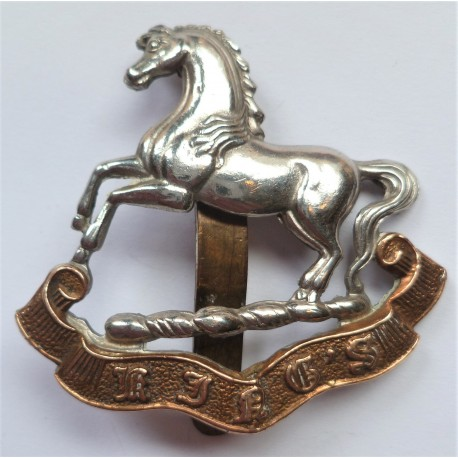 The Kings Regiment (Liverpool) Cap Badge WW2