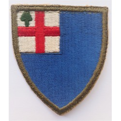 United States 11th Corps Cloth Badge patch Old Pattern