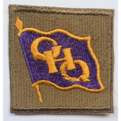 WW2 US Army GHQ South West Pacific Cloth Insignia Badge