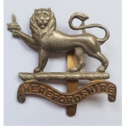 WW1 Herefordshire Regiment Cap Badge