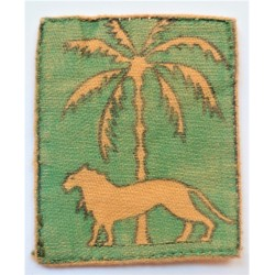 Singapore District Cloth Formation Sign Badge