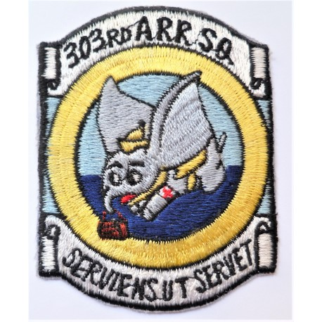 United States Air Force Patch Reserve Rescue 303 ARRS Air Recovery Squadron USAF