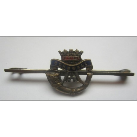 The Duke of Cornwalls Light Infantry Sweetheart Brooch