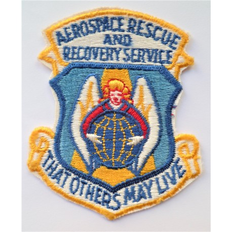 United States Aerospace Rescue And Recovery Serivce Patch