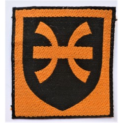 12th Infantry Brigade Woven Cloth Formation Sign British Army