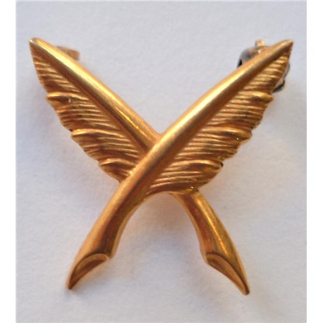 WW2 United States Navy Ships Clerk Officers Collar Device