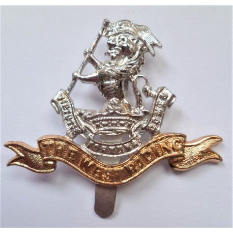 The West Riding Staybrite Cap Badge
