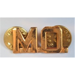 United States Army MO Officers Collar Device/Badge