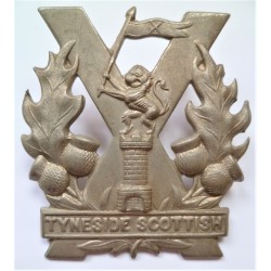 WW1 Tyneside Scottish Cap Badge British Army