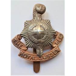 WW2 The Royal Sussex Regiment Cap Badge British Army