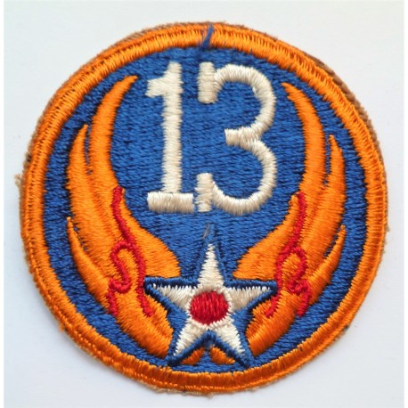WW2 United States Army 13th Air force Patch/Badge