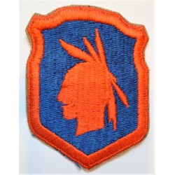 United States Army 98th Division Cloth Patch/Badge WWII