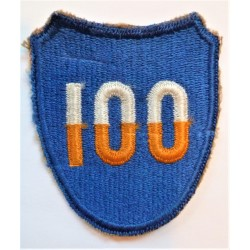 WW2 United States Army 100th Division Cloth Patch Badge