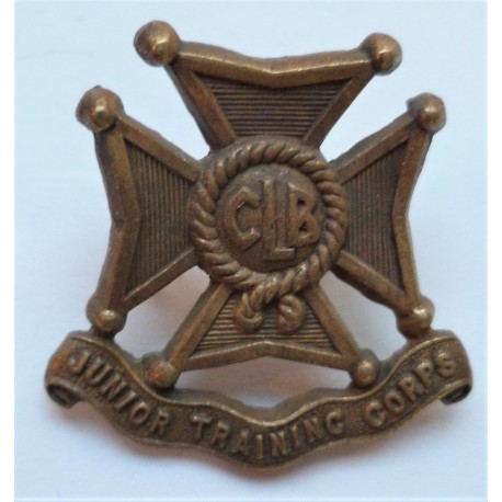 Church Lads Brigade Junior Training Corps Cap Badge British Army