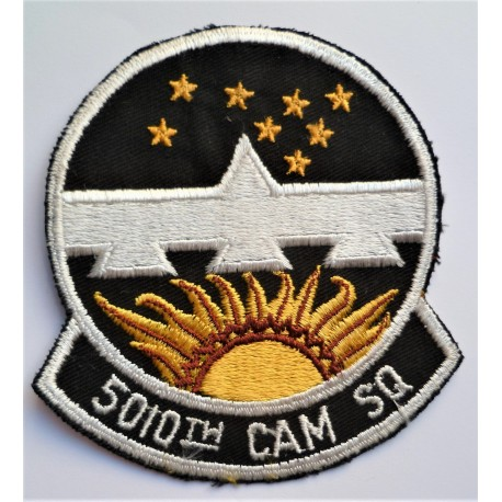 United States 5010th CAM Squadron Cloth Patch Badge USAF Consolidated Aircraft Maintenance