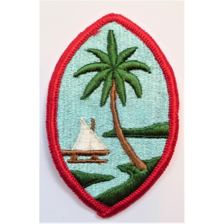 United States Army Guam National Guard Cloth Patch Badge