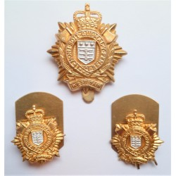 Royal Logistics Corps Cap Badge and Collars