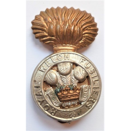 Royal Welch Fusiliers Cap Badge British Army
