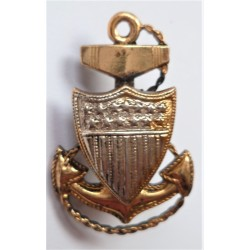 US Coast Guard Chief Petty Officer Sterling Collar Insignia