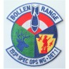 United States National Guard 193rd special ops wing Bollen Range Patch