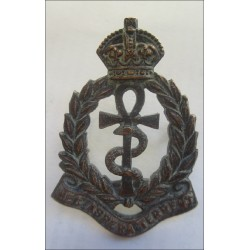 Royal Air Force Medical Corps Bronze Officers Cap Badge