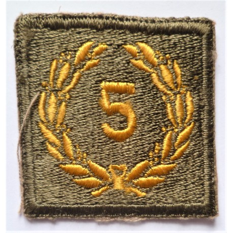 United States Army Meritorious Merit 5th Award Unit patch