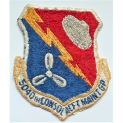 USAF 5040th Consolidated Aircraft Maintenance Group Squadron Patch