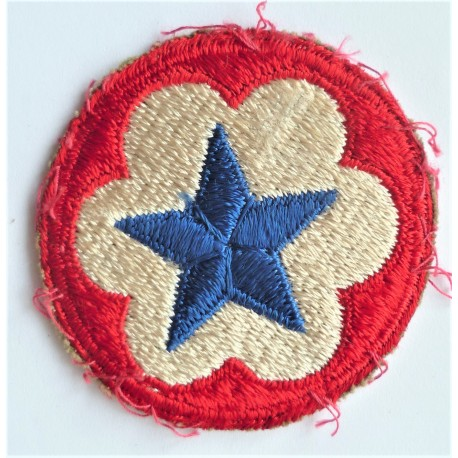 United States Army Service Forces Cloth Patch Badge WWII