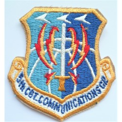 USAF 5th Combat Communications Group Cloth Patch Badge