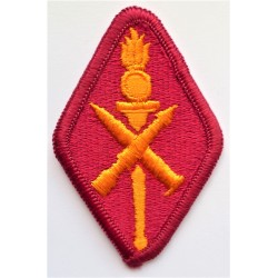 United States Army Missile & Munitions Centre & School Cloth Insignia Patch Badge