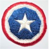 United States 9th Army Logistical Command Cloth Patch Badge
