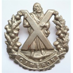 Queens Own Cameron Highlanders British Army WW1