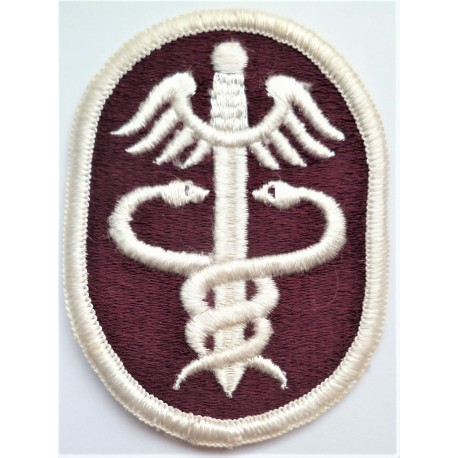 United States Health Services Command Cloth Patch Badge