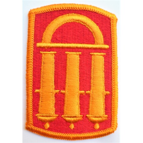 United States 118th Field Artillery Brigade Cloth Patch Badge